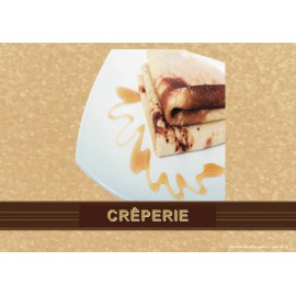 5 SETS DE TABLE MOTIF CREPES